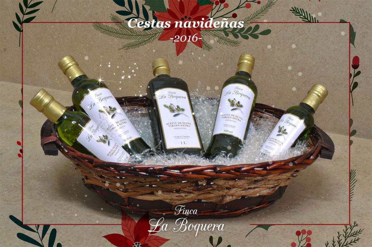 promocion navidad 2016 aceite de oliva virgen extra finca la boquera